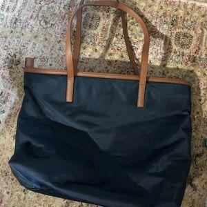 MK nylon purse navy